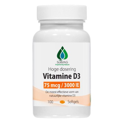 Vitamine D3 Capsules 75microgram 3000Eenheden