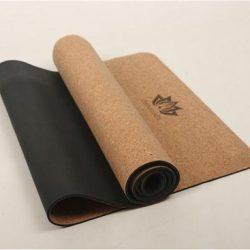 Yogamat kopen met kurk en rubber